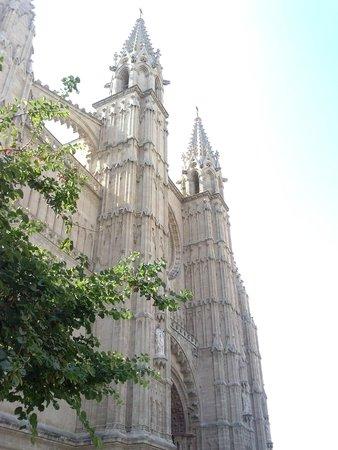 Palma Cathedral Le Seu : Esterno...