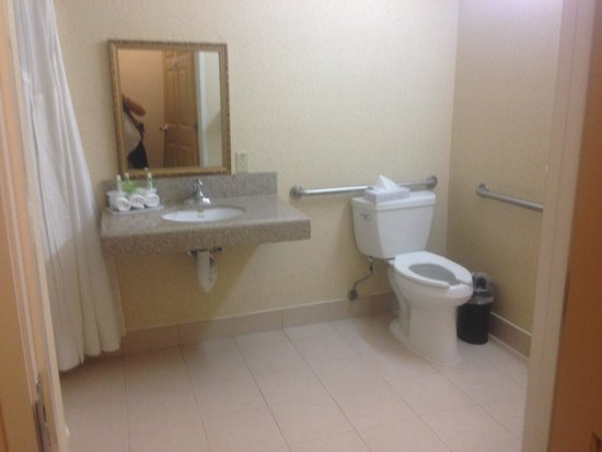 Holiday Inn Express & Suites Bakersfield Central: Bathroom