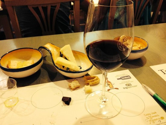 Tuscan Wine School - Siena : One of the reds