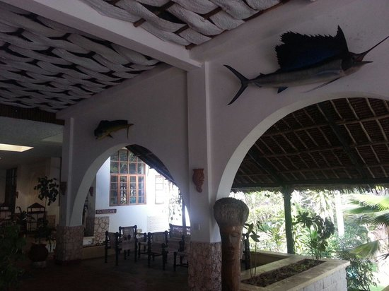 Kilifi Bay Beach Resort : Reception area
