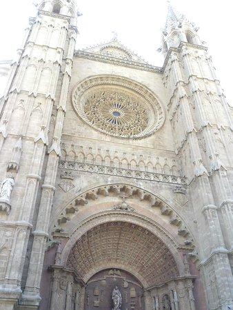 Catedral de Mallorca: Esterno...