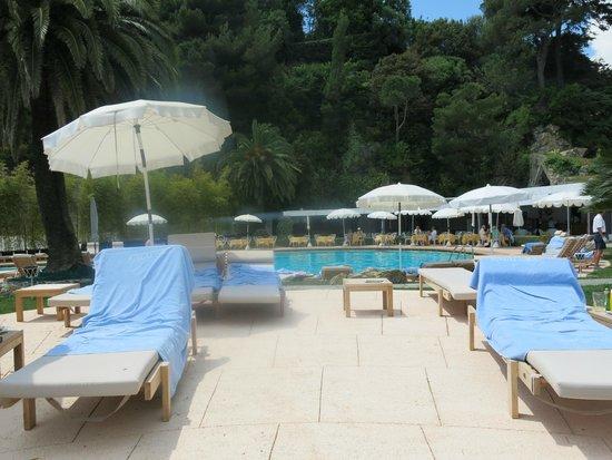 Grand Hotel Miramare : Pool Meerwasser