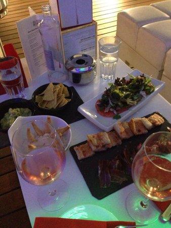 Hotel Espana: Tapas on the terrace