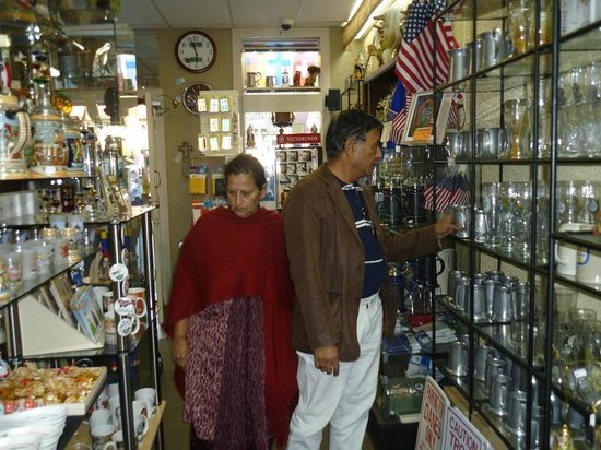 Helen - White County Convention and Visitors Bureau: In a shop