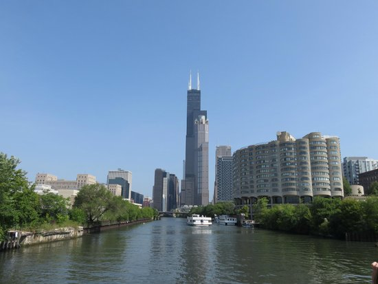 Chicago's First Lady Cruises: View of the Sears (Willis) Tower