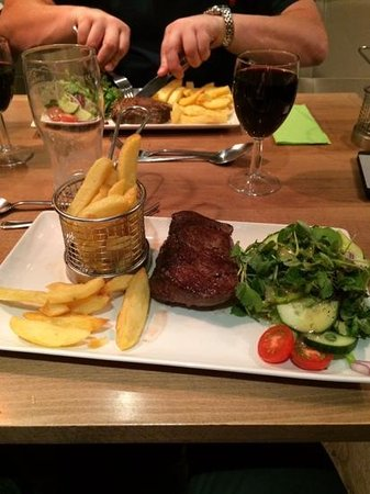 The Allerdale Court Hotel: evening meal