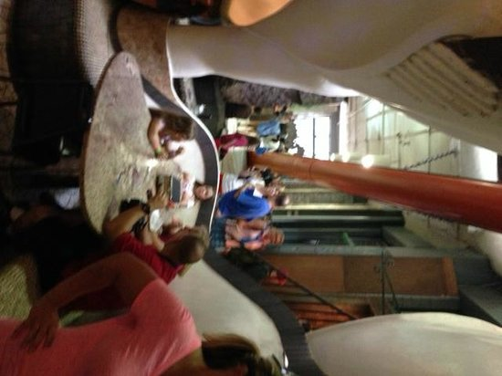City Museum : A cozy little niche to grab a snack duringhte fun.