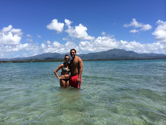 Barefoot Travelers Kayak Tour to Monkey Island : View of El Yunque from Monkey Island