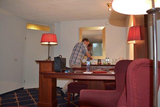 WestCord Hotel Noordsee: Kamer deluxe