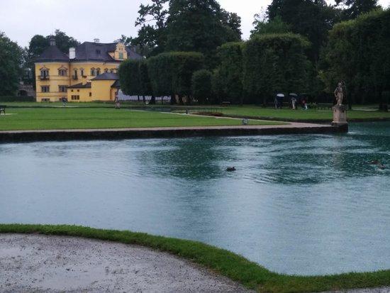 Château d'Hellbrunn : Gardens