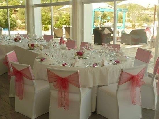 Yacht Club Cala d'Or : wonderful table