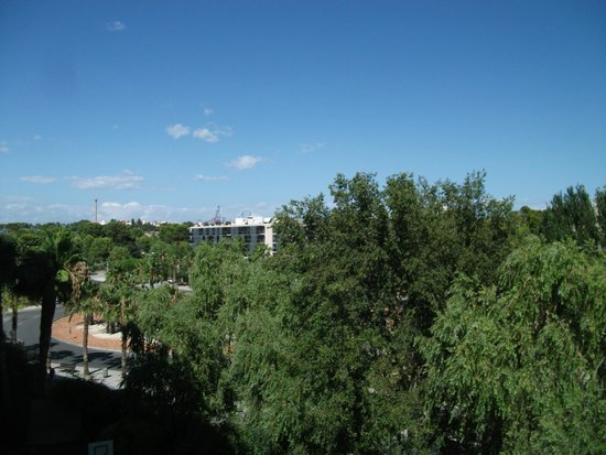 H10 Salauris Palace: View from our room (no 351)