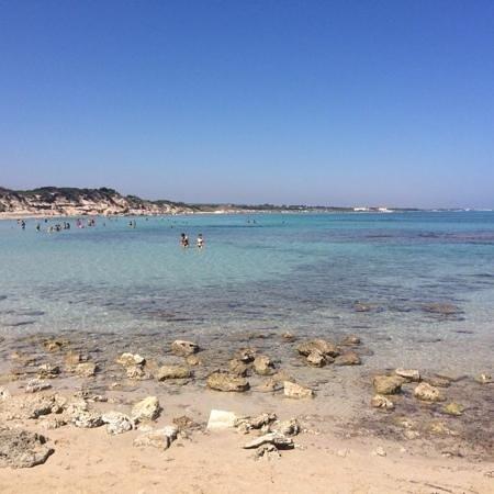 Carovigno, Itália: Spiaggia Punta Penna Grossa