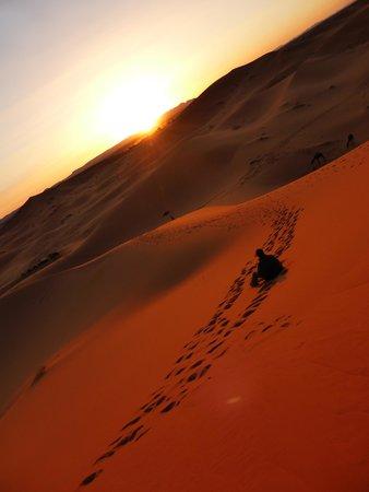 Hotel Kasbah Mohayut : Sunset in the desert