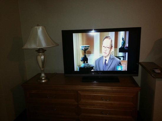 Burbank Inn & Suites: Nice TV
