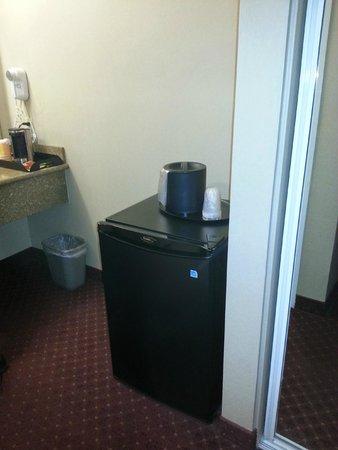 Burbank Inn & Suites: Mini Fridge