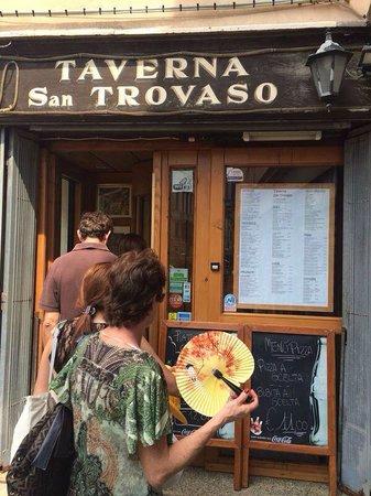 Taverna San Trovaso : Frente