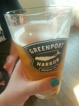 Greenport Harbor Brewing Co.: Summer Ale.. is pretty good $8, and you can keep the glass