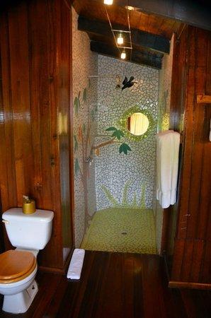 Ladera Resort: shower view