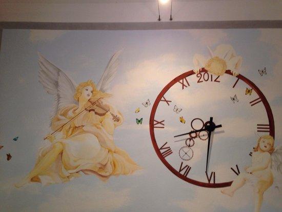 I Tre Arcangeli: La sala comune.