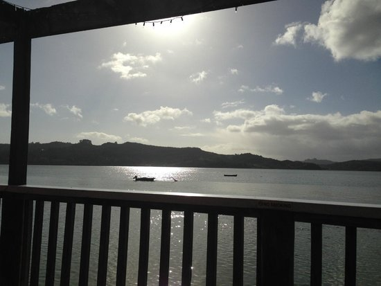 Boatshed Cafe: View from the deck