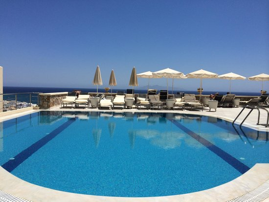 Epavlis Hotel: View from bar