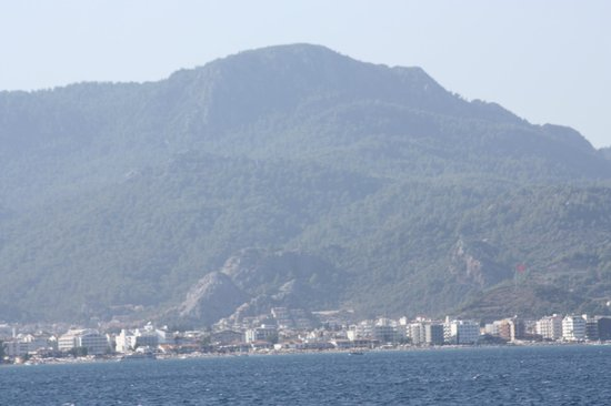 The Kresten Royal Villas & Spa : on the way back to Rhodes from Marmaris