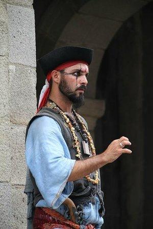 Les remparts de Saint-Malo : Pirata de la puerta del año 2014 (diferente al del año 2010)