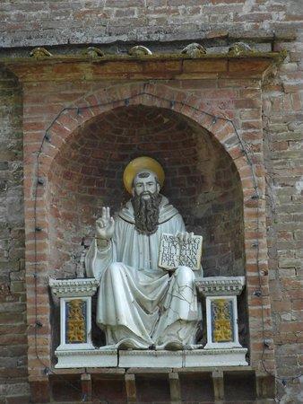 Abbazia di Monte Oliveto Maggiore: ingresso del complesso