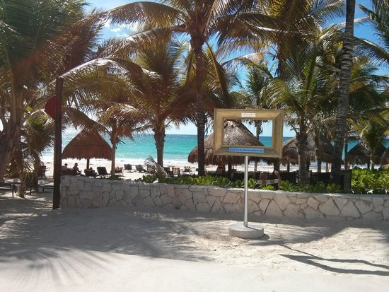 Catalonia Royal Tulum: the beach is definitely picture worthy