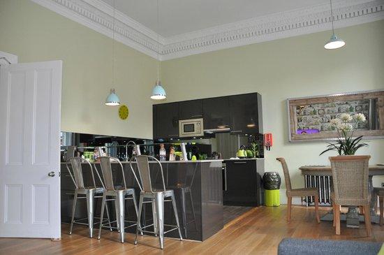 The Rutland Hotel: Kitchen Area