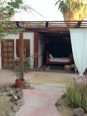 Korakia Pensione : massage area