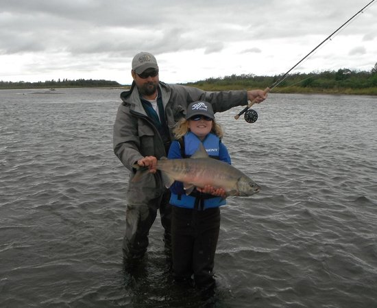 Katmai Lodge : Chum Salmon on main river
