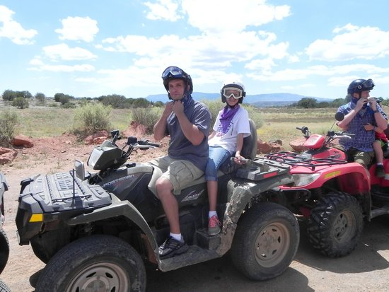 Arizona ATV Adventures: My husband and daughter