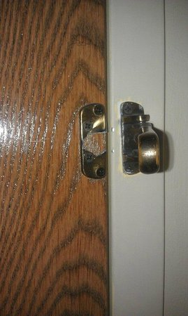 Wingfield Inn & Suites: Broken lock