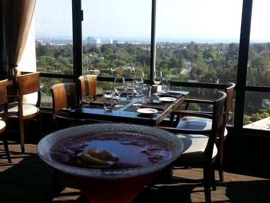 Hotel Angeleno : Great view from the restaurant