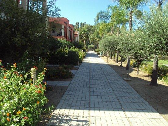 VOI Baia di Tindari Resort : Viale degli appartamenti
