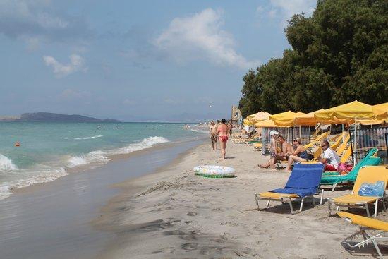 Holiday Village Kos by Atlantica: Beach across the road
