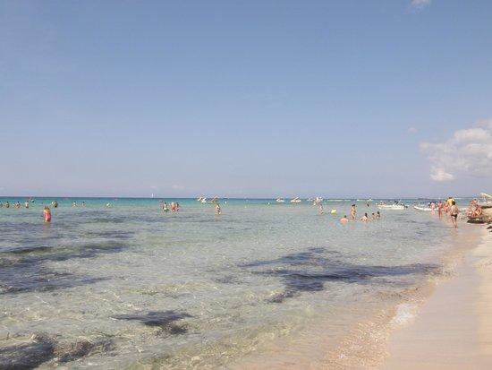 Valentin Son Bou: sonbou beach