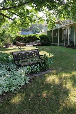 The Foxglove Inn: The yard has a hammock.