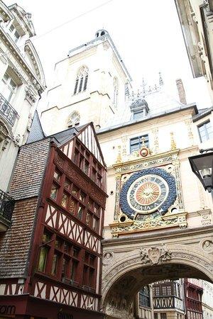 Rue du Gros Horloge : Reloj