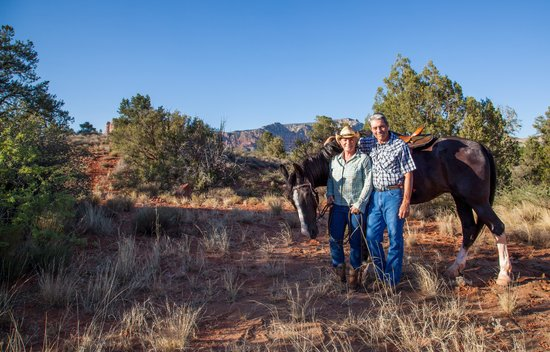 Sedona, AZ: Horse and Riders