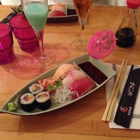 Zen : Entrée : sushi et maki