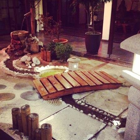 jardin intérieur Zen