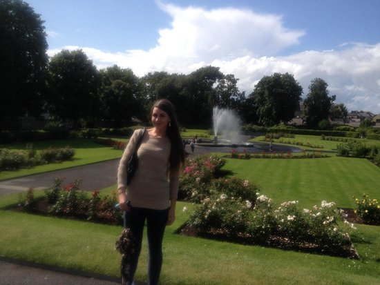 Beautiful grounds of Kilkenny castle