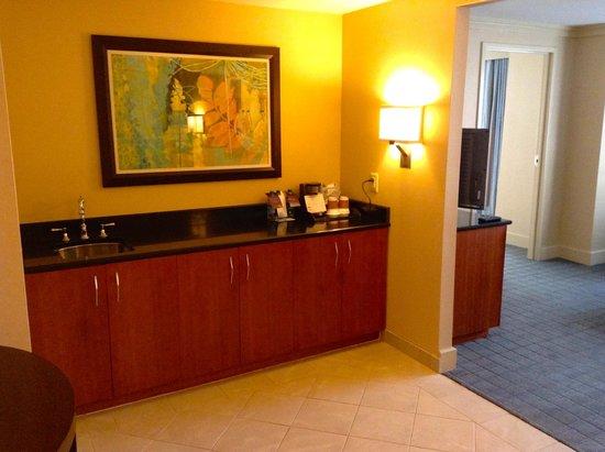 The Westin Alexandria : Suite room entrance