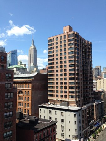 The Marcel at Gramercy : View from the rooftop lounge.