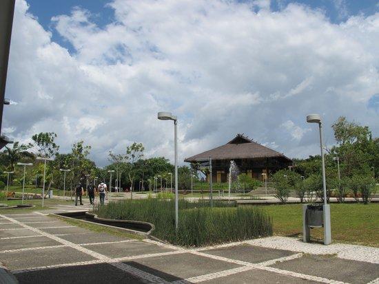 Manjar das Garcas: Vista ã esquerda da entrada do parque