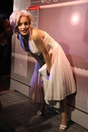 Madame Tussauds New York: :)