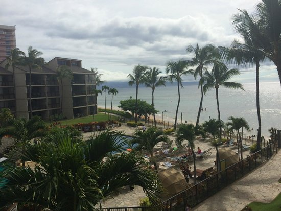 Aston Kaanapali Shores : View from our balcony